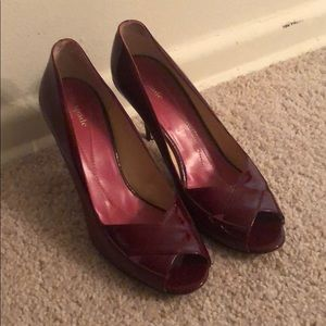 EUC Patent Leather Kate Spade heels